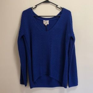 Hippie Rose Royal Blue sweater